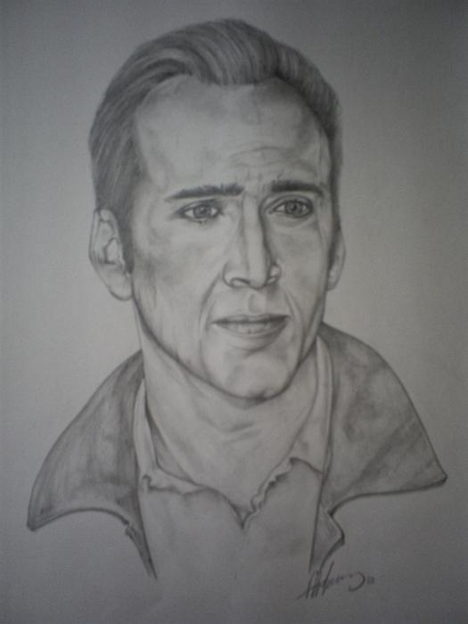 Nicolas Cage par pencilartandy